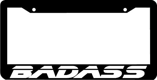 ShopForAllYou Frame Badass Lowered JDM JDM Turbo Racing License Plate Frame