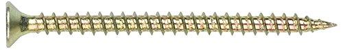 Index TPPO50120 - Tornillo tirafondo pozidriv bicromatado cabeza 90 avellanada lubrificado 5, 0 x 120