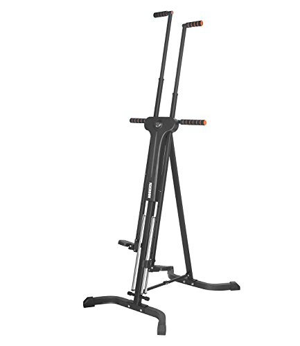 Vertical Climber Exercise Machine Total Body Workout Climber Machine,FEIERDUN Folding Climbing Machine for Home GYM Step Climber Exercise Cardio Machine