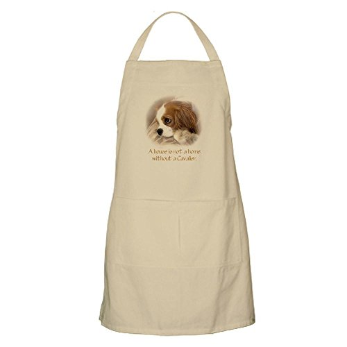 CafePress Cavalier King Charles Spaniel Kitchen Apron with Pockets, Grilling Apron, Baking Apron