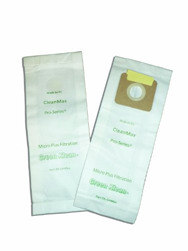 Price comparison product image Green Klean GK-ClnMax Replacement Vacuum Bags (Pack of 100)