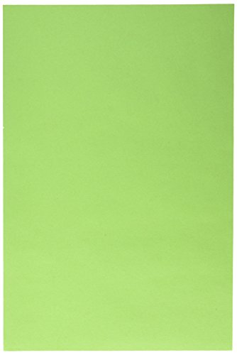 "Pacon SunWorks Construction Paper, 12"" x 18"", 50-Count, Bright Green (9607)"