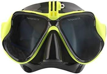 5de48e12cf Vige Cámara subacuática Profesional Que Nada Las Gafas de la natación del  Tubo respirador de la máscara del Buceo Apto para la cámara estándar de los  ...