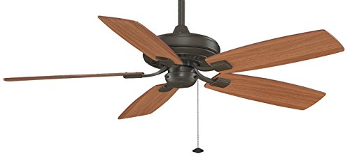 Edgewood Tortoise Shell - Fanimation Edgewood Decorative - 52 inch - Oil-Rubbed Bronze with Pull-Chain - TF610OB