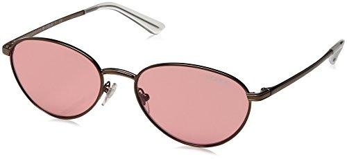 <Gigi Hadid for Vogue Eyewear >+<Women's>+<VO4082S>+<Oval Sunglasses>+<Copper Light Brown/Pink>+<53mm>