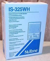 - NuTone IS325WH Radio Intercom 5