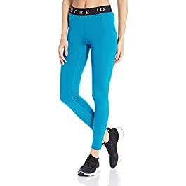 Amazon Brand – Core 10 Women's (XS-3X) Lightweight Compression Mid Rise Training Full-Length Legging – 27″