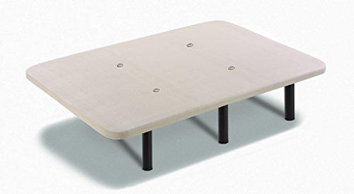 Base Tapizada Con Tejido 3D y Válculas de Transpiración y 6 Patas De Metal De 32 cm 90x180cm