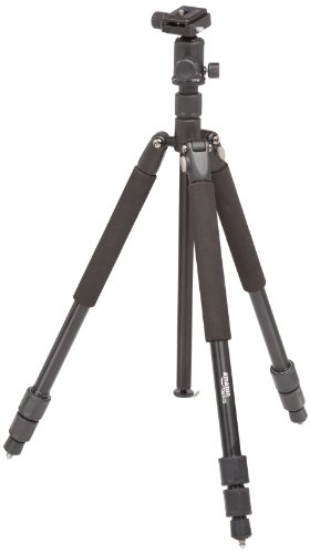 AmazonBasics Tripod with Ball Head 62 Inches Aluminium
