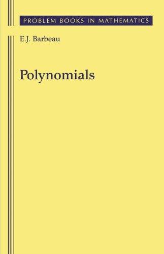 Polynomials (Problem Books in Mathematics)