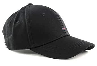 Tommy Hilfiger Women's Classic Logo Baseball Cap, Black, One