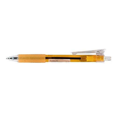 Itoya Sailor Clipper/Retractable Ballpoint Pen, 0.7mm Fine Point, Black Ink, Orange (16-3106-873 (OR))