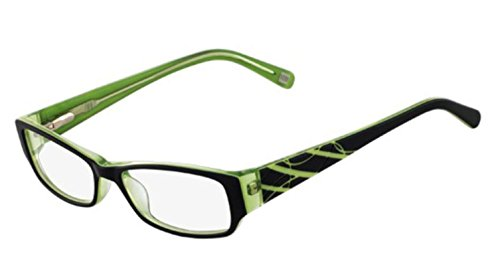 Nine West Eyeglasses NW5012 019 Black Lime 49 - Prices Shades West Nine