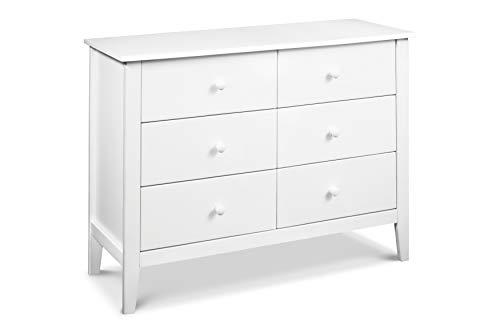 Carter's by Davinci Morgan 6 Drawer Dresser, White