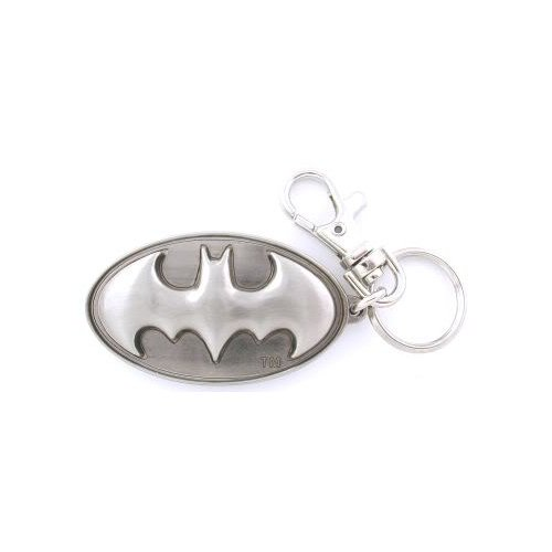Batman Pewter Keychain