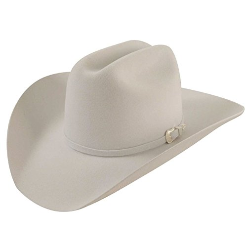 Bailey Western Men's Lightning, White, 7 1/8 ()