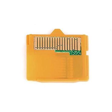 Amarillo 25 x 22 x 2 mm (L x W xH) 2 Piezas Adaptador Micro SD de Tarjeta SD MASD-1 para Insertar en la Tarjeta XD para Olympus