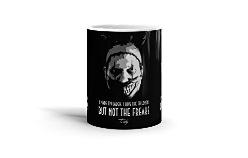 Ceramic Coffee Mug Television Show Cup Twisty The Clown V Tv Shows Series Drinkware Super White Mugs Family Gift Cups 11oz 325ml