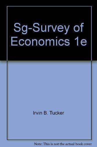 Study Guide to accompany Survey of Economics