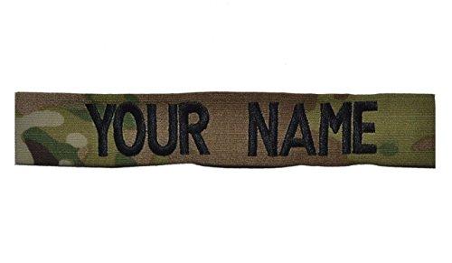 Velcro Name Tapes (Custom Multicam / Scorpion / OCP Name Tape US Army USAF Sew)