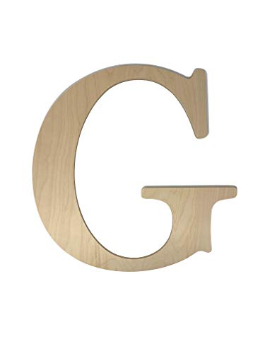 Unfinished Wooden Letter for Wedding Guest Book Alternative or Wall Decor (24
