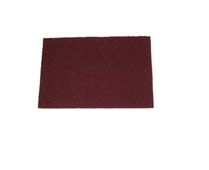 K/örnung 320 f/ür Holz Schleifvlies-Pads 152x229mm Schleifvliesmatte 5 St/ück INOX uvm. Edelstahl