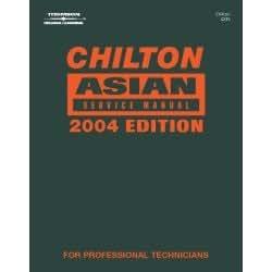 Servicio de Asia 2000–2004Manual herramientas equipo herramientas de mano