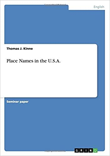 Place Names in the U.S.A.
