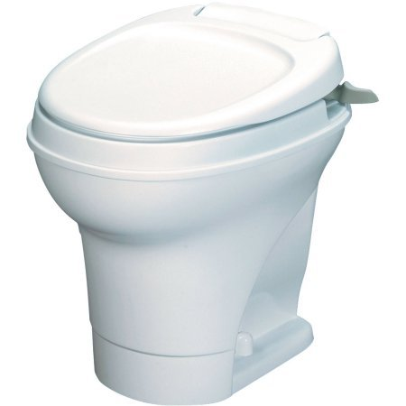 Economical High Bone Aqua Toilet Bowl, White by Aqua-Magic