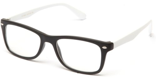 Clear Lens Fashion Fun Nerd Cosplay Geek Colors Rainbow Multi Color BUY 3 GET 50% OFF! 1854 Matte White