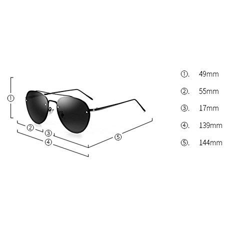 Sol Estilo Gafas Polarizing DT Driving de Mirror Gafas Nuevo de Driver 2 Sol Masculinas Color fXY4xE4Aq