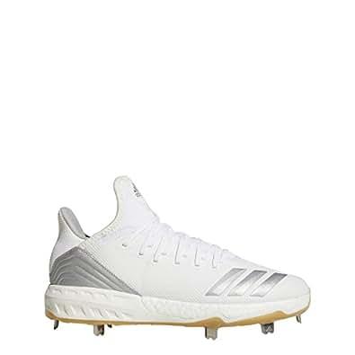 half off e6f97 f55a4 adidas Icon 4 Cleat - Mens Baseball 5.5 WhiteSilver Metallic