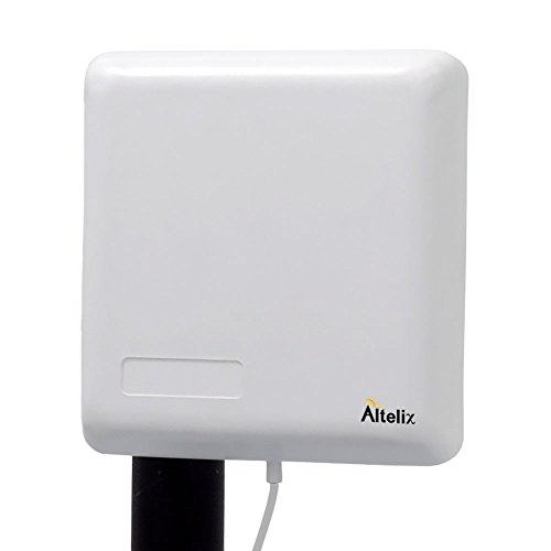 Altelix Wideband 50 Ohm Outdoor Directional Panel Antenna 50 Ohm N Female 698-2700MHz 8dBi for 50 Ohm 2G 3G 4G LTE Cell Phone Boosters and WiFi