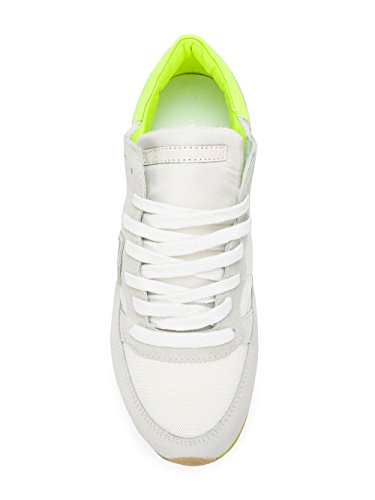 Philippe Model Women's TRLDNS01 White Suede Sneakers Bdds104V
