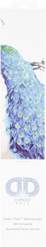 Needleart World Blue Peacock Diamond Embroidery Kit