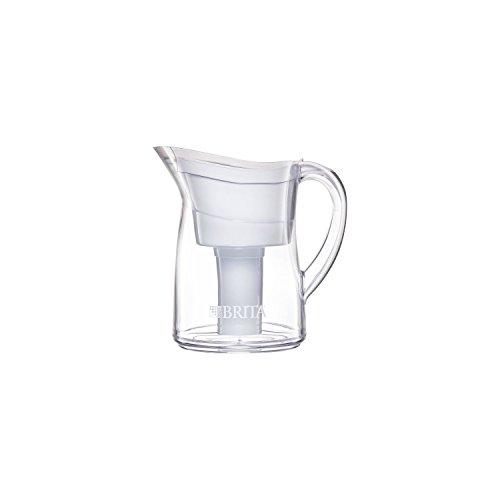 Brita Mini Plus 6 Cup Water Filtration Pitcher (White) by Brita