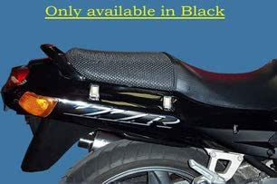 Triboseat Anti Slip Motorcycle Passenger Seat Cover Black Accessory Compatible With Triumph Trident 900 1991-1996