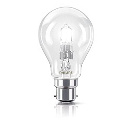 X 10 GLS 70w = 92w GLS BC B22d Bayonet Cap Halogen ECO Classic A Energy Saving Dimmable Light Bulb 220-240v