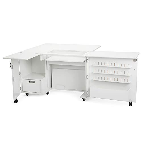 llaby II Sewing Cabinet with 3 Position Airlift ()