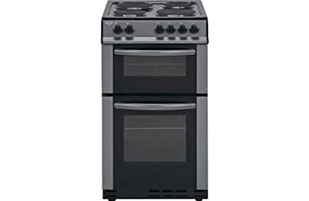 b62a15ee9a62 Bush AE56D Double Electric Cooker - Anthracite.  Amazon.co.uk ...