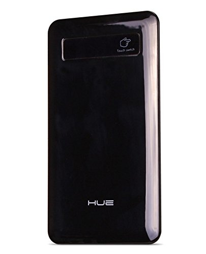 Juno Power Hue Kard (BLACK) - Ultra Thin Portable Battery Charger - (3300mAh, USB 5V 1A Output) for all 5v/1A USB Devices