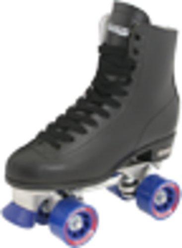 Chicago Men's Classic Roller Skates -Black Rink Quad Skates Size 9 (Used Roller Skates Size 9)