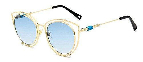 inspirées soleil cercle de B en rond retro du polarisées vintage lunettes Lennon métallique style CqHxwFt5a5