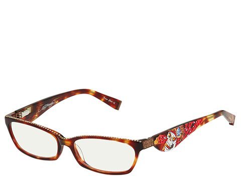 ED HARDY EHR203 Reading Eyeglasses Tortoise - Hardy Glass