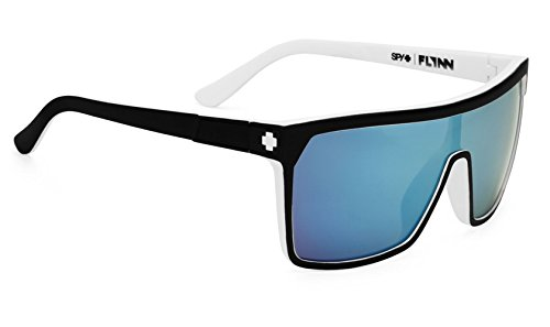 120fef4ee3 Amazon.com  Spy Optic Flynn Sunglasses Whitewall   Grey w  Light ...