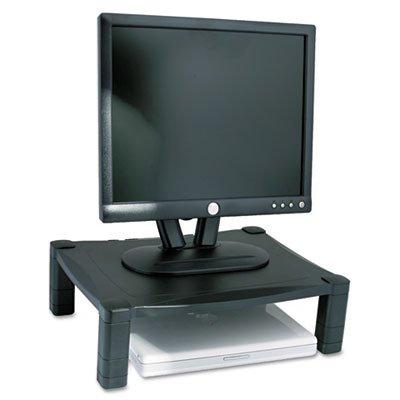 (KANTEK INC.Single Level Height-Adjustable Stand, 17 x 13 1/4 x 3 to 6 1/2, Black (7)