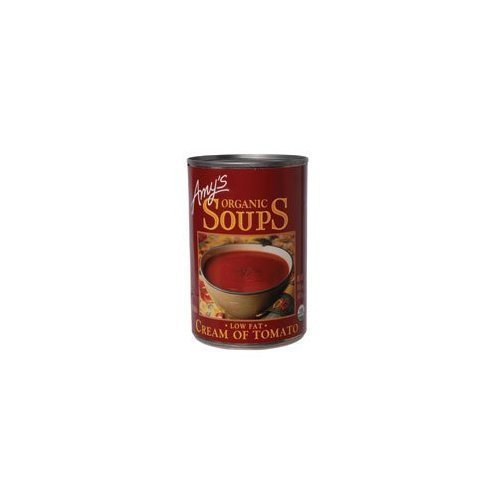 Amy's Organic Cream of Tomato Soup, 14.5-Ounce Cans (Pack of 60) by Amy's by Amy's