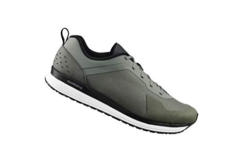 SHIMANO SH-CT5 Bicycle Shoes, Olive, Size 44