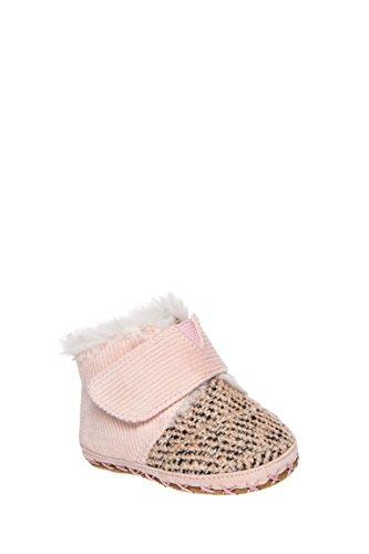 TOMS Kids Unisex Cuna (Infant/Toddler) Pink Corduroy Tweed 3 Infant (Toms Corduroy)
