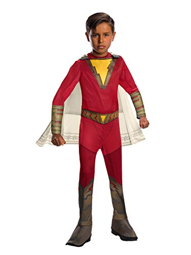 Shazam! Movie Child's Shazam Costume, Small]()